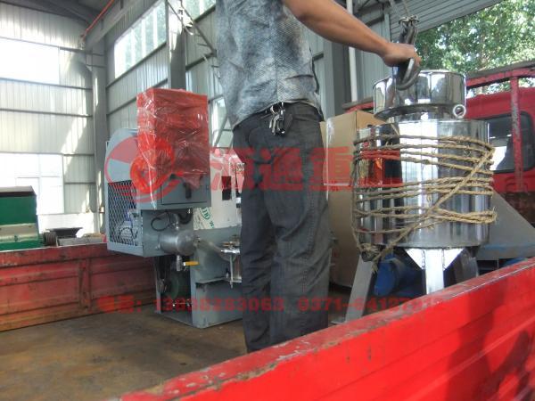 离心式滤油机发货图片
